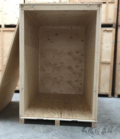 Breathable Wooden Storage Container